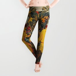 She Came from the Wilderness Leggings