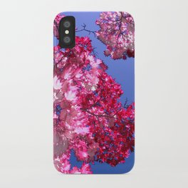 pink tree XI iPhone Case
