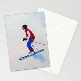 Bunny Slope Stationery Cards