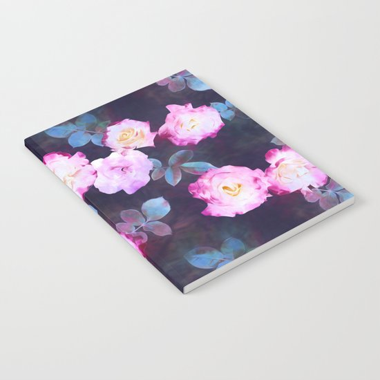 Twilight Roses Notebook