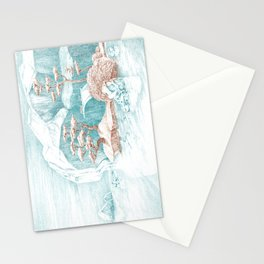 Arctic Mirage Stationery Cards