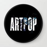 artpop Wall Clocks featuring ARTPOP by Greg21