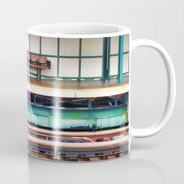 A platform bench Coffee Mug