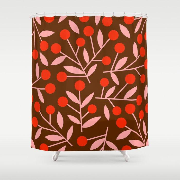 Cherry Blossom_002 Shower Curtain