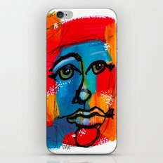 You Have to FaceYourself First iPhone & iPod Skin
