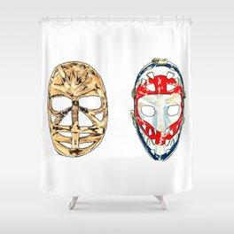 Double Dryden Shower Curtain