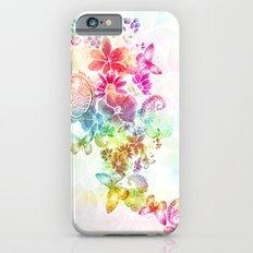 paisley flutter Slim Case iPhone 6