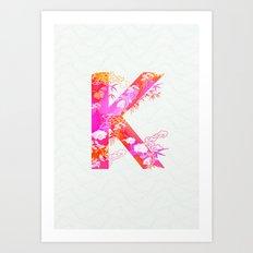 K_ Art Print