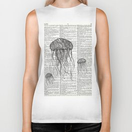 Free Floating Trio Biker Tank