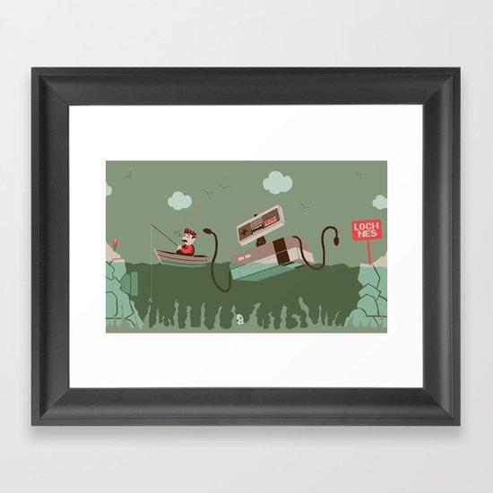 Loch NES V.2 Framed Art Print