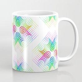 Colorful Rainbow Pattern Coffee Mug