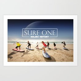 Surf One Art Print