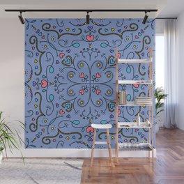 Happy Love Mandala Wall Mural