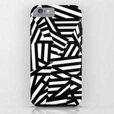 Simply Black and White 1 Tough Case iPhone 6