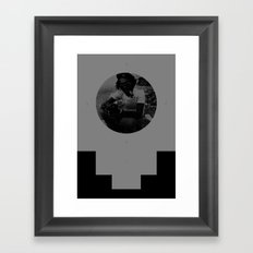 stepping razor Framed Art Print