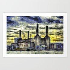 Battersea Power Station Art Art Print