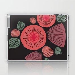Vintage Floral Dark Laptop & iPad Skin