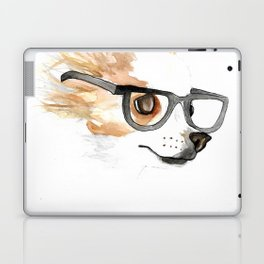 Chihuahua Hipster Laptop & iPad Skin