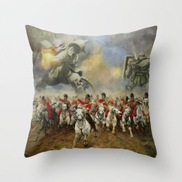 Waterloo Forever! Throw Pillow