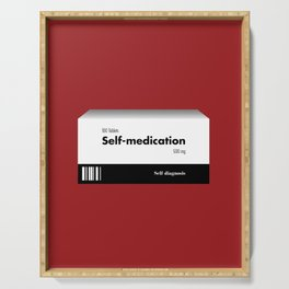 Self-medication Serving Tray