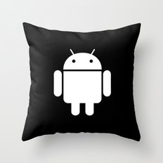 Android Skin for iPhone Throw Pillow