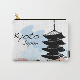 Kyoto Temple Japan Carry-All Pouch