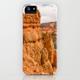 Hoodoos along the Queens Garden Trail iPhone Case
