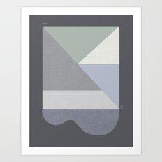 LINCOLN SLOAT FOG Art Print