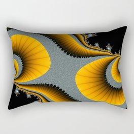 Swirls and Paisley-type Shapes Rectangular Pillow