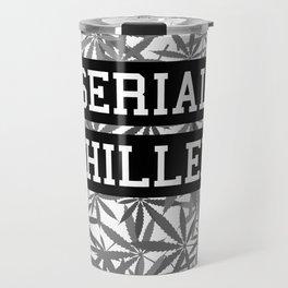 Serial Chiller B&W Travel Mug