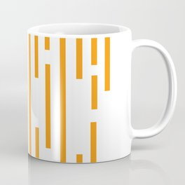 Minimalist Lines – Orange Coffee Mug