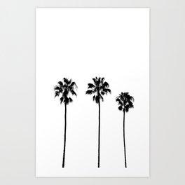 Palm Tree Noir #31 Art Print