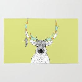 Elk & Feathers Rug