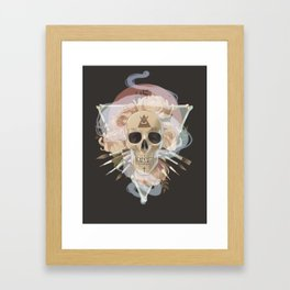 Till death do us part Framed Art Print