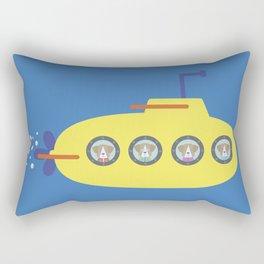 The Beagles - Yellow Submarine Rectangular Pillow