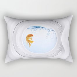 (Very) Clean Goldfish Rectangular Pillow