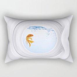 (Very) Clean Goldfish Rectangular Pillow