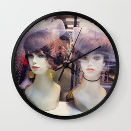 Always a Nonhuman Bridesmaid Wall Clock