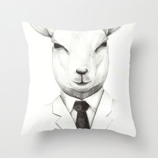 Lamb Throw Pillow