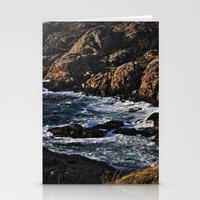 norway Stationery Cards featuring Norway Landscape by Christine baessler
