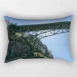 Pass Island Bridge Rectangular Pillow