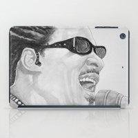 stevie nicks iPad Cases featuring Stevie wonder by ART FEEDS HUNGER