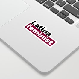 Latina feminist Sticker