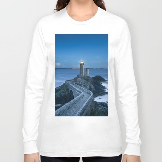 Lighthouse blue Long Sleeve T-shirt