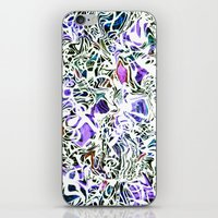 oakland iPhone & iPod Skins featuring Purp Lives (OH. Oakland) by The Bun
