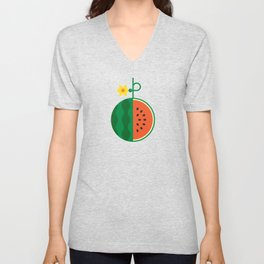 Fruit: Watermelon Unisex V-Neck