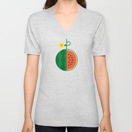 Fruit: Watermelon Unisex V-Neck