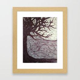 Moon Tales Framed Art Print