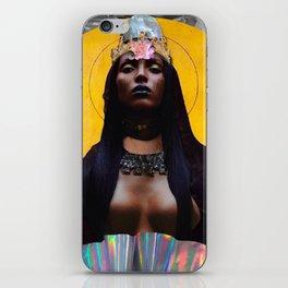 contemporary black madonna iPhone Skin