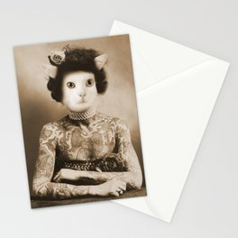 Cattoo: The incredible tattooed wild cat Stationery Cards